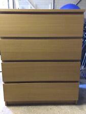 Ikea Malm 4 Drawers Ebay