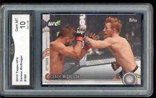 2015 Conor Mcgregor Topps UFC Card Gem Mint 10 #185