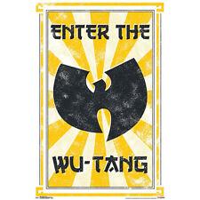 "Enter The Wu-Tang Clan Poster - 23""x35"""