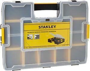 Stanley 1-94-745 Sortmaster Tool Organiser Screws Nails Storage Case STA194745