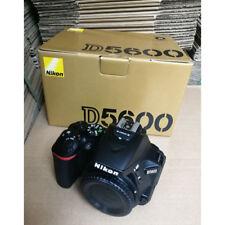 Nikon D5600 DSLR Camera Body Black (Multi Language) NIB