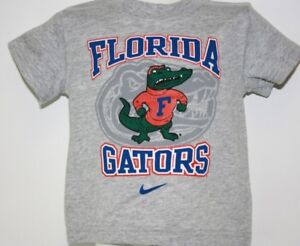 NEW Infant Toddler Boys Girls Kids NIKE Florida Gators Grey Tee T-Shirt NCAA
