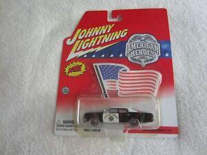 2002 Johnny Lightning American Heroes USA:  1974 Dodge Monaco - CHP NIP