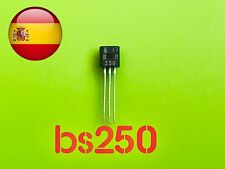 BS250 Bs 250 transistor to-92 mosfet pnp envió rápido desde España
