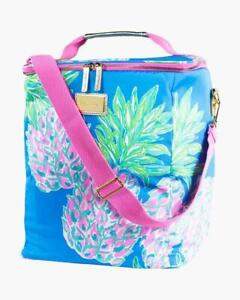 Lilly Pulitzer Insulated Wine Carrier Soft Cooler with Adjustable Strap, NWT