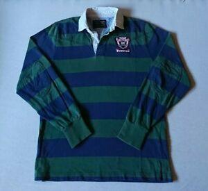 GANT Herren Langarm Polo Rugby Shirt Gr. M
