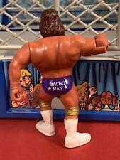 WWF Hasbro Series 3 Macho MAN Near Mint!! Action Works!!  Titan Sports