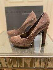 ladies Taupe/Nude high heel shoes size 5