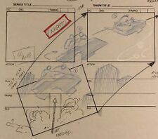 Jim Lee Wildcats Production  Storyboard Nelvana 1994-5