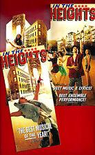 "Lin-Manuel Miranda ""IN THE HEIGHTS"" Priscilla Lopez 2008 Broadway Opening Flyer"