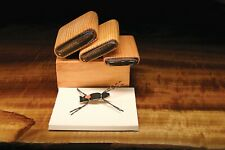 Deluxe Tapered End Chernobyl Ant 3 Cutter Set - with wood caddy