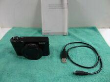 Sony DSC-RX100 III 20.1 MP Digital  Camera - Black- Lightly used