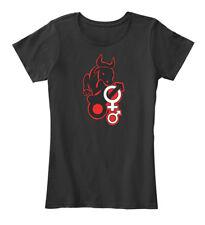 Hotwife Owned By Black Bull Women's Premium Tee T-Shirt