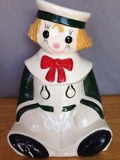 Vintage Royal Sealy Japan Raggedy Andy Cookie Jar - Rare!
