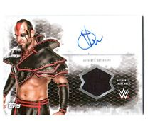 WWE Viktor 2015 Topps Undisputed Authentic Autograph Shirt Relic Card FD30