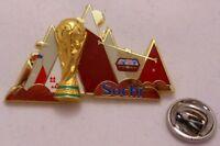 Pin / Anstecker + Fußball FIFA Weltmeisterschaft 2018 Rußland + Sochi (105)