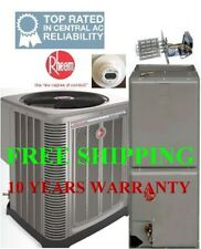 1.5 Ton R-410A 14SEER Heat Pump System Condensing Unit / Air Handler with Coil