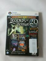 * NEW * LEGENDS OF TERROR - COLLECTOR'S EDITION - 20 PACK PC Game (DVD-ROM)