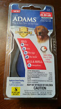 New ADAMS Flea & Tick Spot On For Large Sized Dogs Dog 56-80 lbs 1 Mth Supply