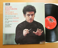 ASD 2327 Daniel Barenboim Conducts Mozart Symphonies 32 35 38 NM/EX Stereo EMI