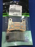 NEW GENUINE KAWASAKI ZX10R ZX10 FRONT CALIPER BRAKE PADS 43082-0091