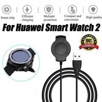 For Huawei Watch 2 Smart Watch Charging Dock Charger Cradle with USB Cable Black