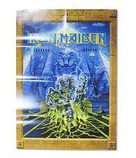 IRON MAIDEN! SOMEWHERE SBIT TOUR 2008 POSTER PROGRAM RARE NEW NOS OFFICIAL