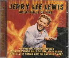 Great Balls of Fire, Jerry Lee Lewis CD
