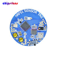 NRF51802 Bluetooth 4.0 BLE Atmospheric Pressure Temperature Acceleration Sensor