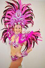 BRAZILIAN PINK#1 SHOW GIRL  carnival SAMBA  COSTUME bikini/CUSTOM MADE