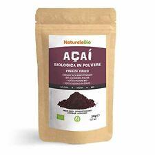 Poudre de Baies d'Açai Bio [Freeze-Dried] 50g. Pure Organic Acai Berry Powder