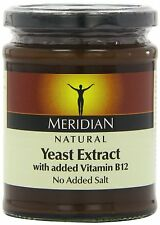 Meridian Natural Yeast Extract With Added Vitamin B12 340g (Pack of 3)