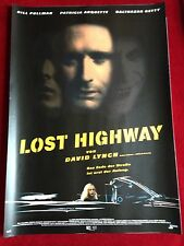 Lost Highway Kinoplakat Poster A1 David Lynch, Pullman, Arquette, Poster