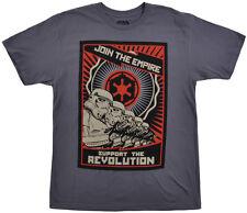 Disney Star Wars T-Shirt Mens Disneyland Top Storm Troopers Short Sleeve S-2XL