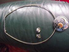 >Himmelsscheibe von Nebra 40mm Anhänger 925/- Sterling-Silber vergoldet 24 karat