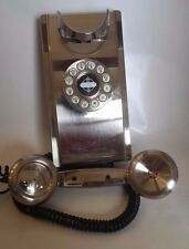 Wall phone Chrome Retro look Wall Phone Crosley