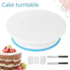 Cake Decorating Turntable 11-24 Icing Nozzles-mould-pen-spatula-bags-tools Set