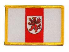 Polen Woiwodschaft Westpommern Aufnäher Flaggen Fahnen Patch Aufbügler 8x6cm