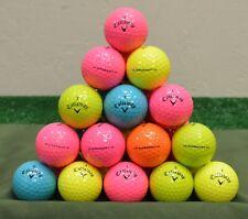 60 Callaway Supersoft 4A Color Mix Golf Balls