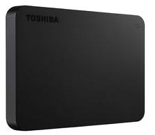 Toshiba HDTB410XK3AA Canvio Basics 1TB Portable External Hard Drive USB 3.0