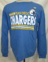 San Diego Chargers Men S M L Pullover Crew Neck Sweatshirt Line-Style NFL A14