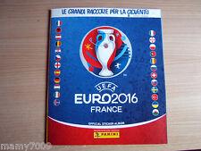 ALBUM PANINI VUOTO/EMPTY=EURO 2016 FRANCE=NO STICKER=