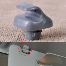 Grey Sun Visor Clip Hook Holder Fit For Honda Accord Civic CR-V 2007-2010 2011