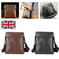 Men PU Leather Shoulder Bag Handbag Fashion Cross Body Messenger Business