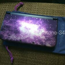 Nintendo 3DS XL LL Galaxy Pack Toysalus Limited Model console USED [D0012]