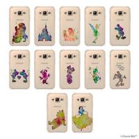 Disney Coque/Etui/Case pour Samsung Galaxy J1 2015 / Souple Silicone Gel housse