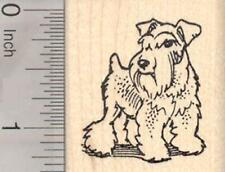 Miniature Schnauzer Dog Rubber Stamp D20417 Wm
