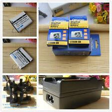 2X Li-50B Battery +  Charger Kit for OLYMPUS SZ-11 SZ-12 SZ-15 Tough TG-870
