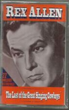 REX ALLEN Last of the Great Singing Cowboys 22 UNRELEASED TAPE CASSETTE SEALED