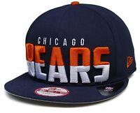 Adult New Era® Chicago Bears Dividing Line 9Fifty™  Snapback Hat Sz M/L